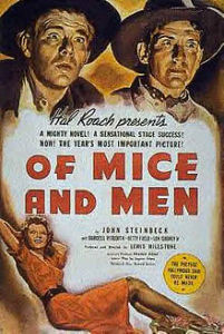 Of Mice and Men 1939 Poster