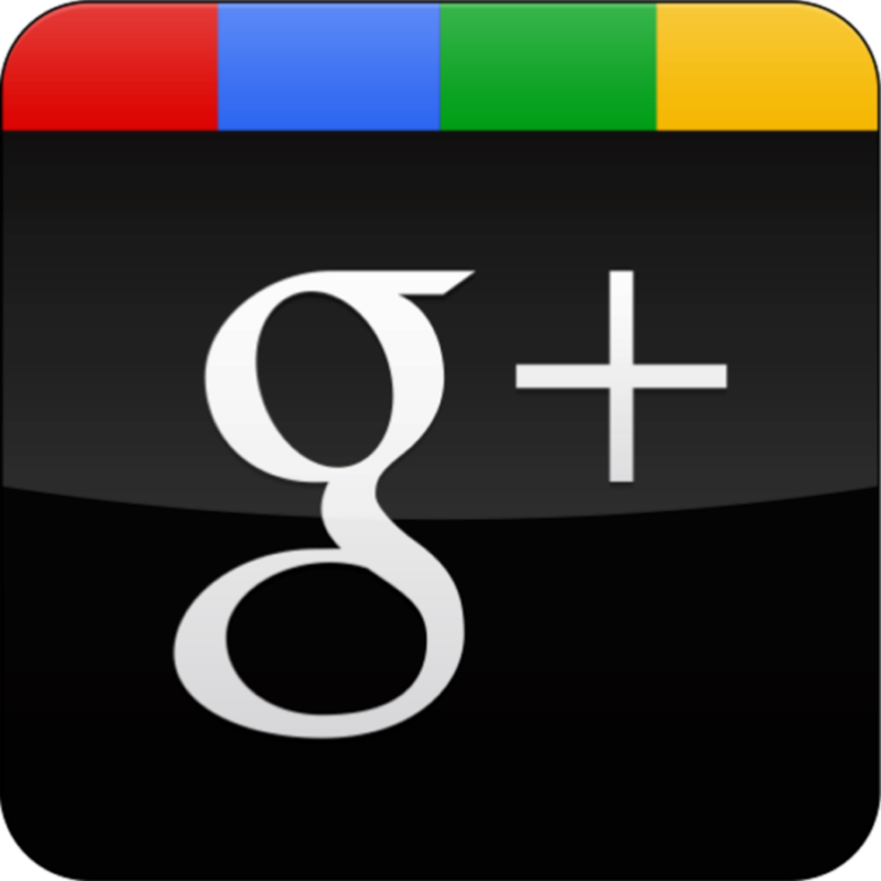 Social Media Links-View on Google+