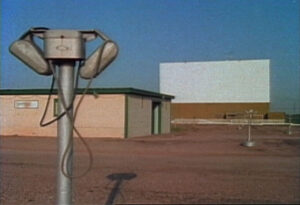 Drive-in speakers