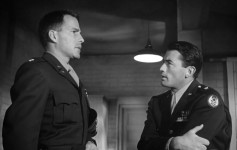 Hugh Marlowe with Gregory Peck Twelve O'Clock High (1949) Military tribute fest