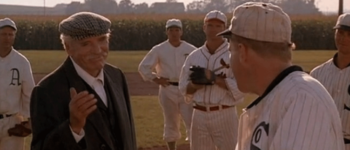 Burt Lancaster as Moonlight Graham in Field of Dreams (1989)