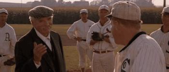 Burt Lancaster as Moonlight Graham in Field of Dreams (1989)