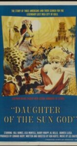 Daughter of the Sun God (1962)