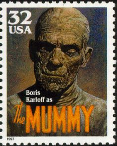 The Mummy (1932) Stamp