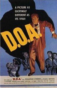 D.O.A. (1950) poster