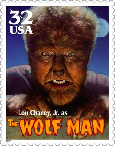 The Wolf Man (1941) Stamp