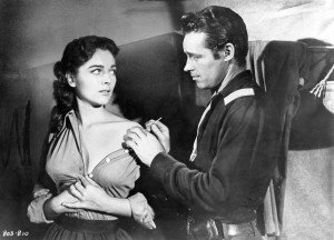 The Command (1954) Joan Weldon and Guy Madison