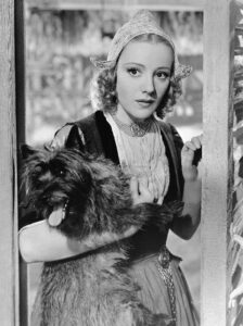 Franciska Gaal as Gretchen in The Buccaneer (1938)
