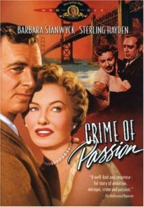 Crime of Passion (1957) poster