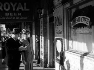 Richard Widmark and Paul Douglas in Panic in the Streets (1950)